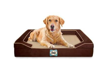 sealy lux cooling dog bed