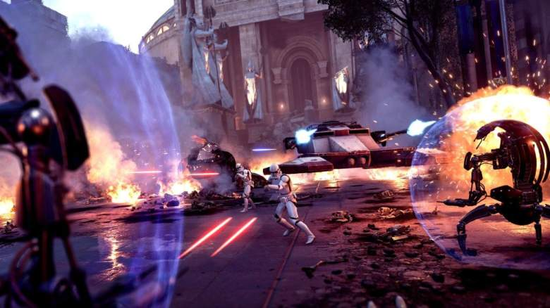 Star Wars Battlefront 2 Droideka Triple XP