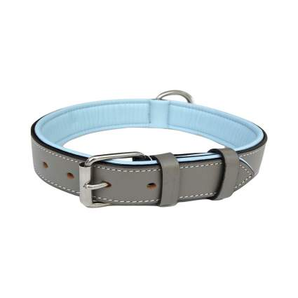the capri collection leather luxury dog collar