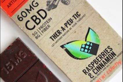 therapeutic cbd chocolate with cinnamon