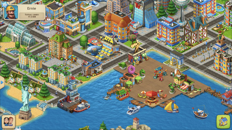 Township Mobile Game