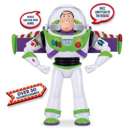 Toy Story 4 Disney Pixar Buzz Lightyear Deluxe Space Ranger Action Figure. Amazon Exclusive