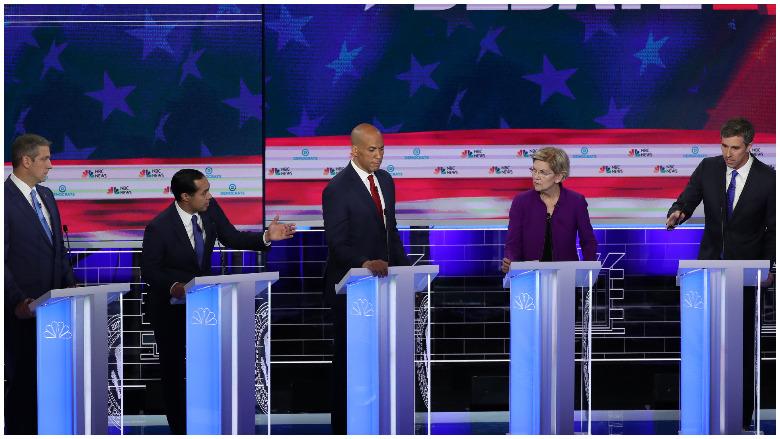 trump democratic debate