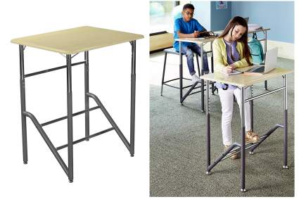 Standing desk for young children