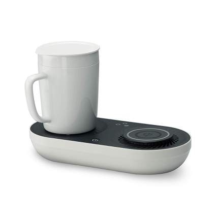 Wireless Phone Charger And Mug Warmer/Drink Cooler weird gadgets