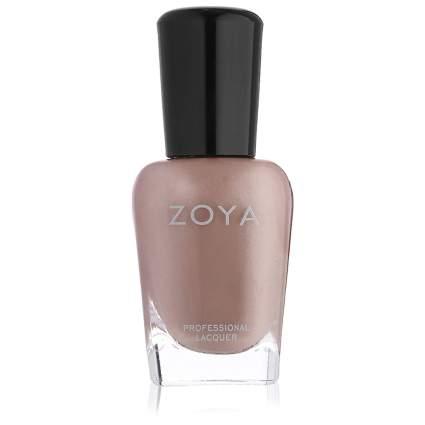 Beige Zoya nail polish