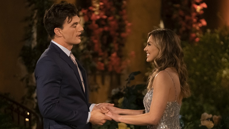 Tyler Cameron and Hannah Brown