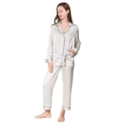 COLD POSH Women 100% Silk Satin Pajamas