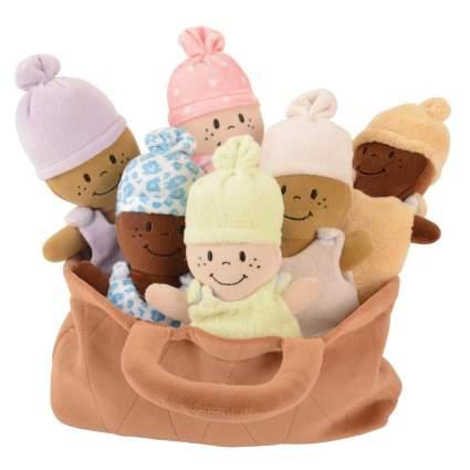 Basket of Babies Creative Minds Plush Dolls