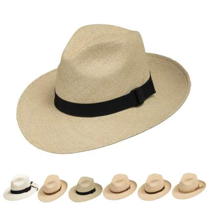 Ultrafino Fedora Packable Foldable Panama Hat