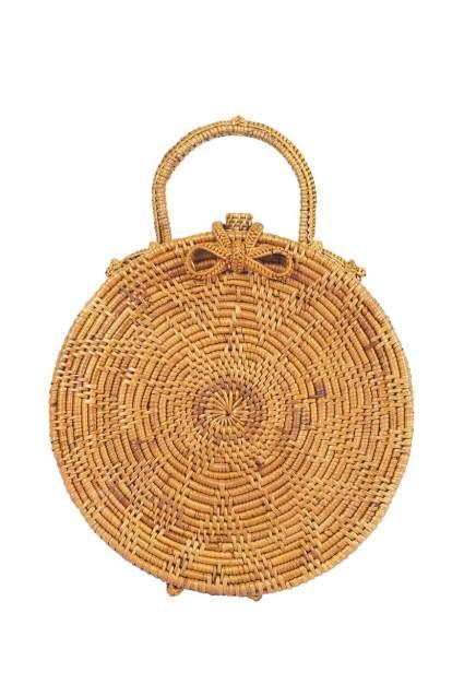 Top Handle Basket Wicker Bag
