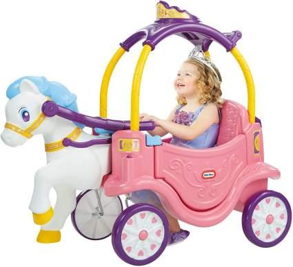 Little Tikes Princess Horse & Carriage, Multicolor