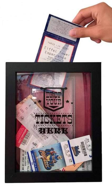 TicketShadowBox - 8x10 Memento Frame
