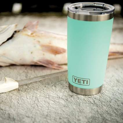 YETI Rambler Vacuum Insulated Tumbler with Lid
