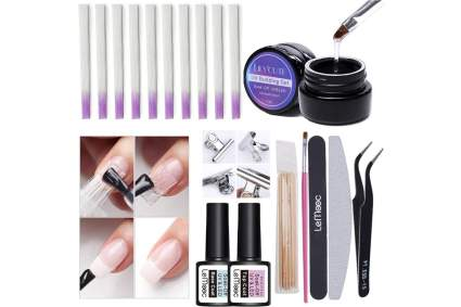 Fiberglass nail kit