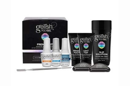 Black box of Gelish nail products