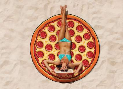 BigMouth Inc Giant Pizza Beach Blanket