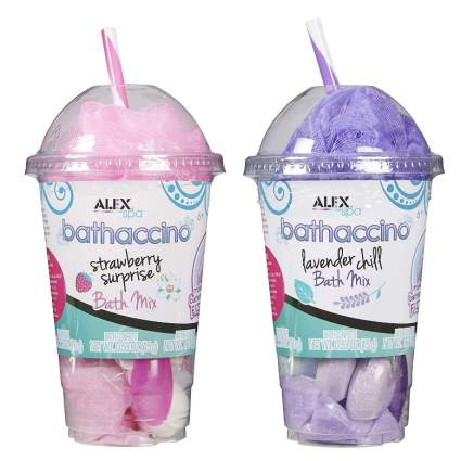 Alex Spa Bathaccino (2 Pack), Pink and Purple