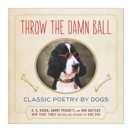 throw the damn ball book gifts for dog lovers