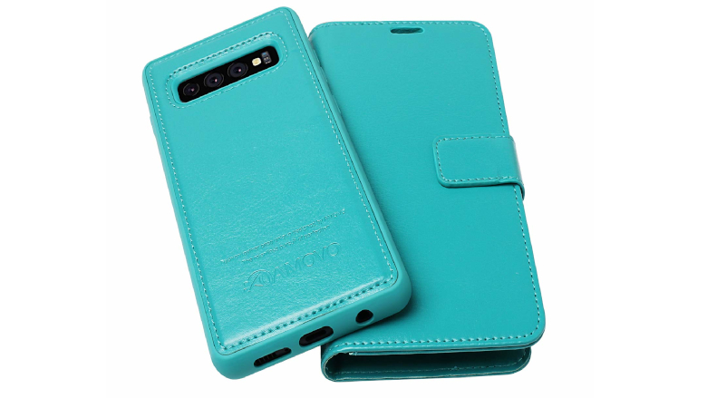 - NETXI150383 N3 with Card Holder Side Pocket Kickstand Shockproof Leather Flip Cover Case for Galaxy S10+ S10Plus NEXCURIO Wallet Case for Samsung Galaxy S10+ S10 Plus