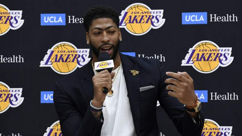 Lakers Roster Anthony Davis
