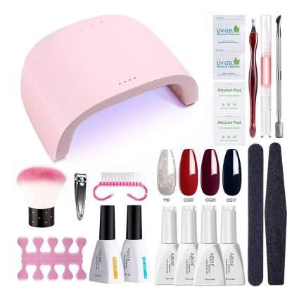 Azure beauty gel nai polish kit with tools