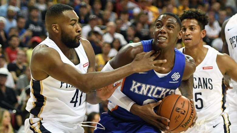 Summer League Earthquake Pelicans Knicks