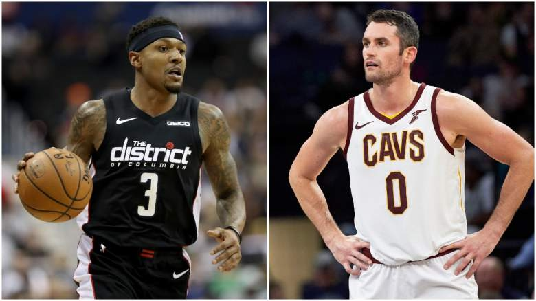 Miami Heat Bradley Beal Kevin Love Trade