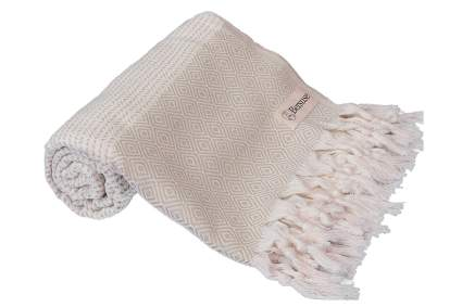 Light colored Turkish towel