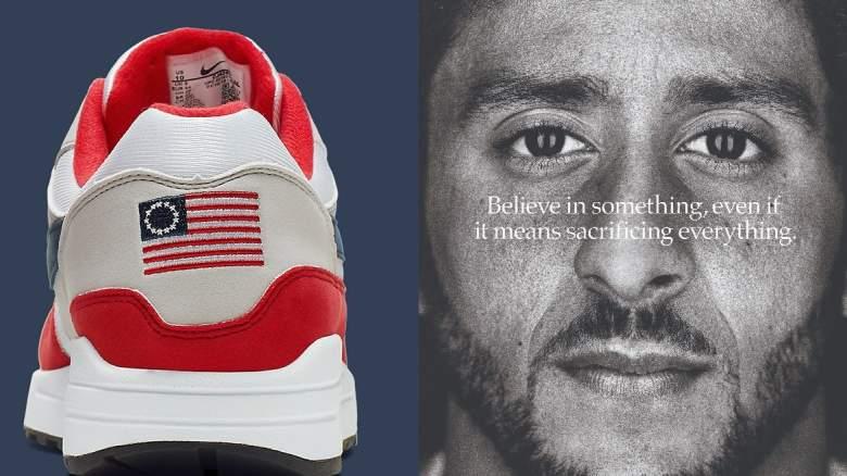 Betsy Ross Nike Sneakers