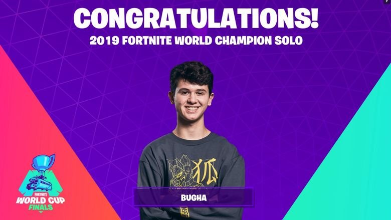 Bugha Fortnite World Cup Champion