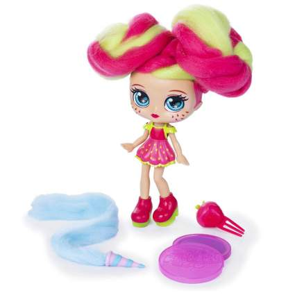 Candylocks, 7-inch Straw Mary, Sugar Style Deluxe Scented Collectible Doll with Accessories