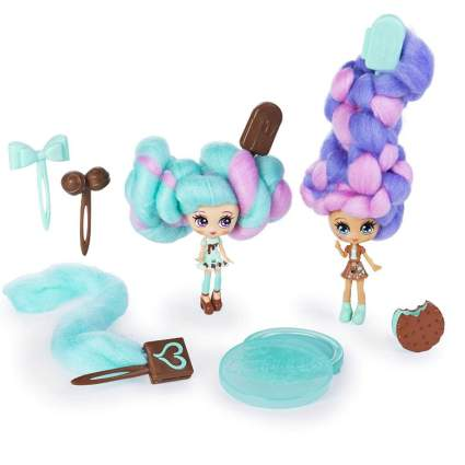 Candylocks, BFF 2 Pack, Mint Choco Chick & Choco Lisa