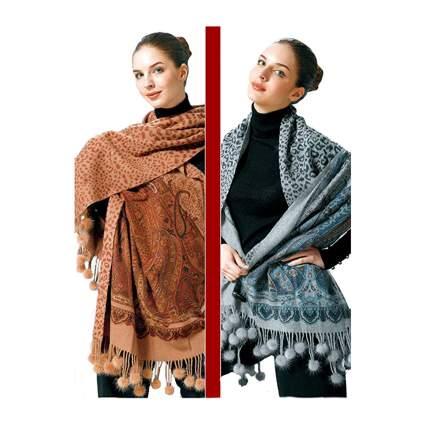 cashmere and mink pashmina scarf