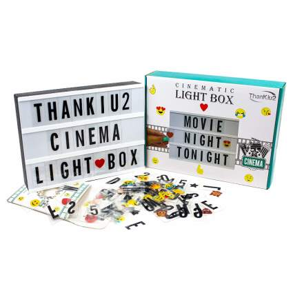 cinema lightbox xmas gifts for teens