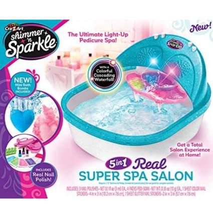 Cra-Z-Art Shimmer N' Sparkle Super Spa Salon - Pedicure Toy Set