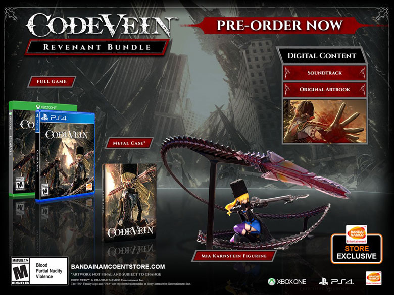 Code Vein Collectors Edition