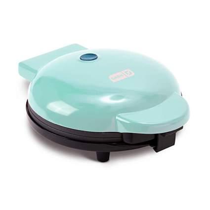 Aqua eight inch waffle maker
