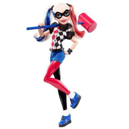 DC Super Hero Girls Harley Quinn 12-inch Action Doll