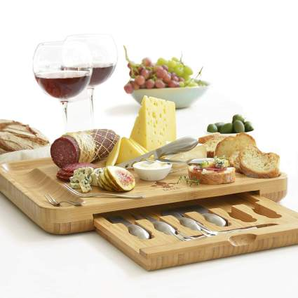 deluxe cheese board xmas gifts for wife