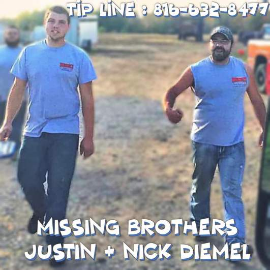 missing wisconsin brothers