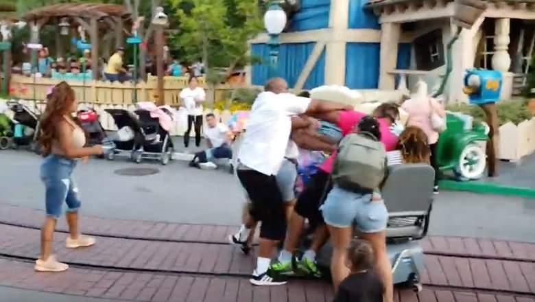 Disneyland Fight