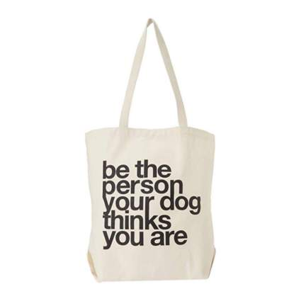 dogeared tote gifts for dog lovers