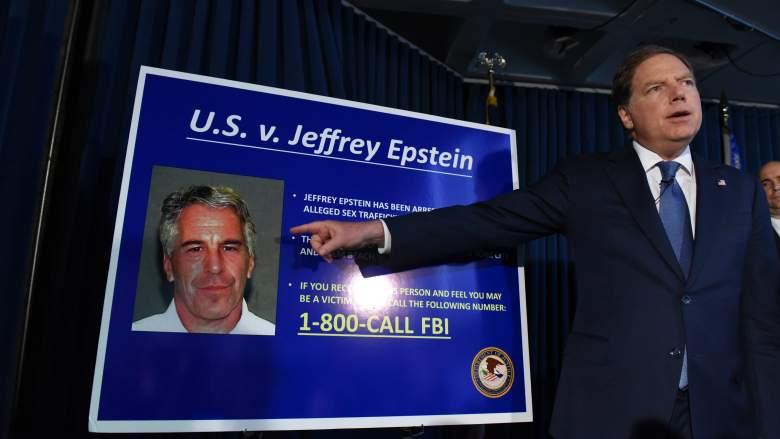 Geoffrey Berman speaks about Jeffrey Epstein