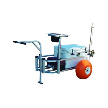 Fish-N-Mate Large Fishing Cart with Poly Wheels