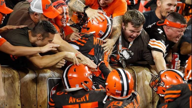 Browns NFL Hall of Fame Game Sign