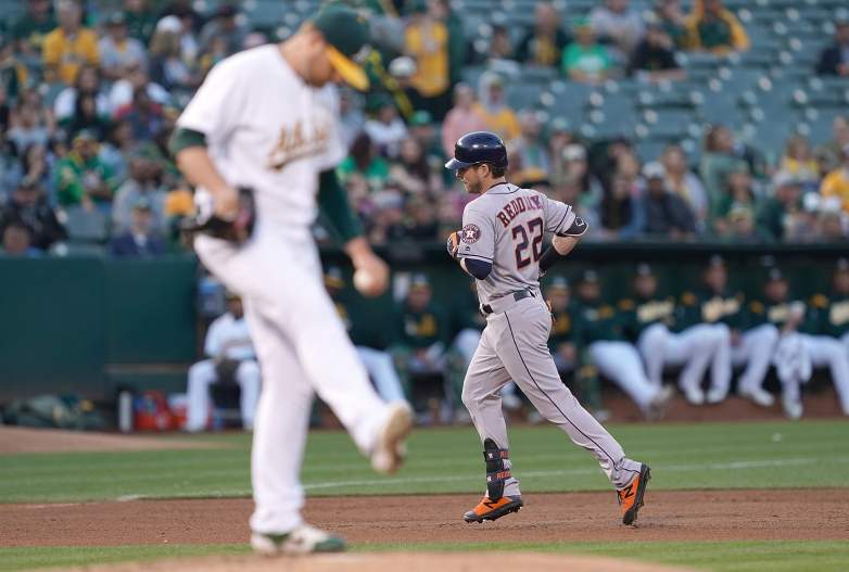 The top two teams in the American League West, the Astros and Athletics, will face each other three times this week in Houston.