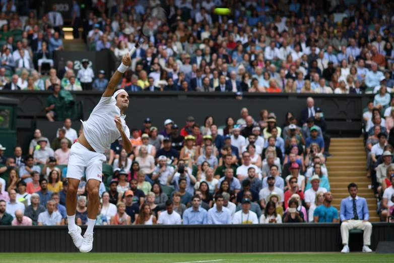 Federer, Djokovic and Nadal will look to advance through to the semifinals on Wednesday at Wimbledon.