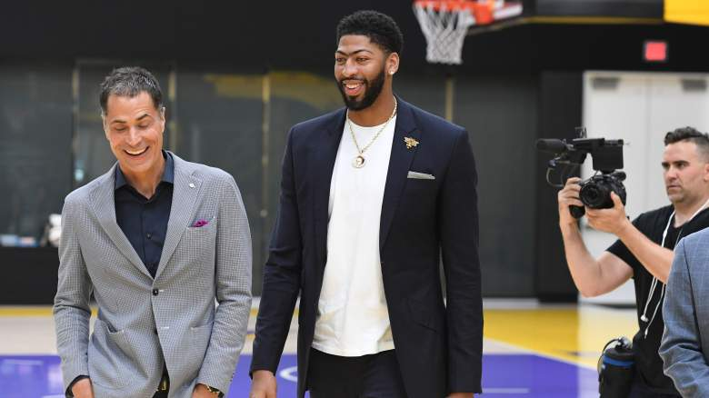 Anthony Davis Lakers Workout