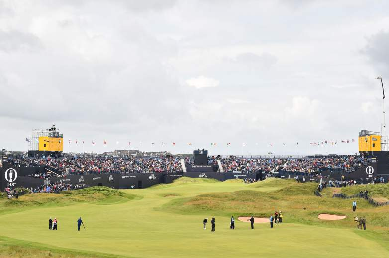The 148th Open Championship's second round will take place on Friday at Royal Portrush.